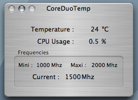 MacBook Pro Temperature under no load (battery)