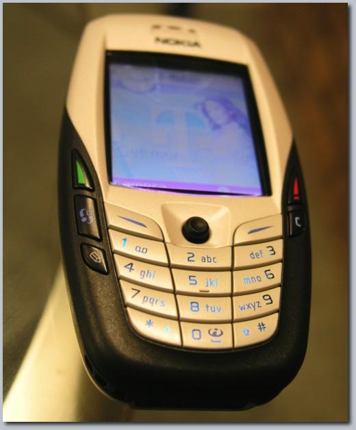 My cellphone.