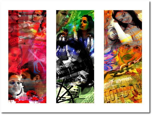 Complete digital collage.
