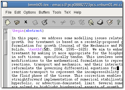 Emacs before the facelift