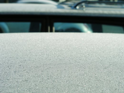 Frost covered car, 1