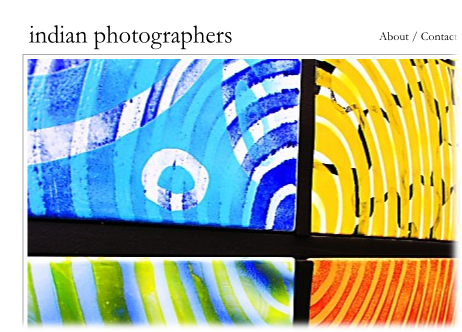 A design mockup for Indian photographers (3.1)