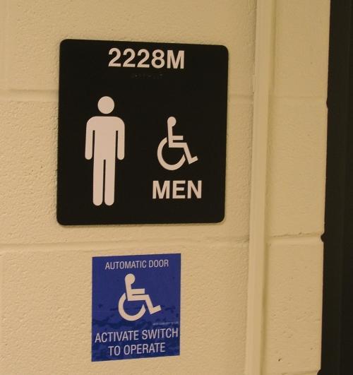 Just the men's room