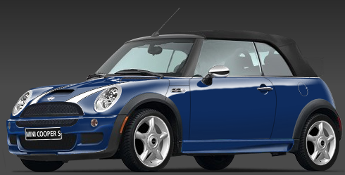 The Mini Cooper S Convertible