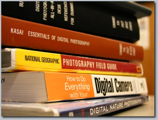 Photography books.