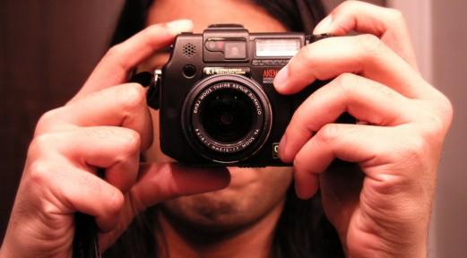 Self portrait, of the camera.