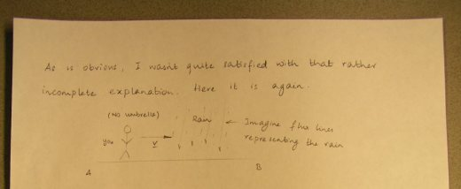 Handwritten stuff.