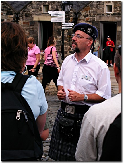 The Scottish guide guy