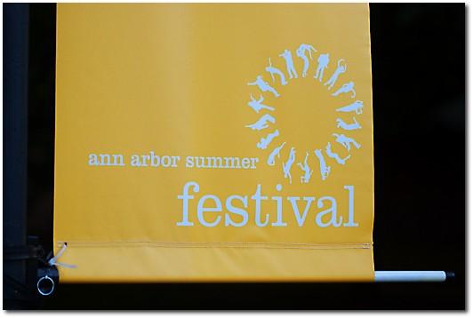 Summer Festival Sign