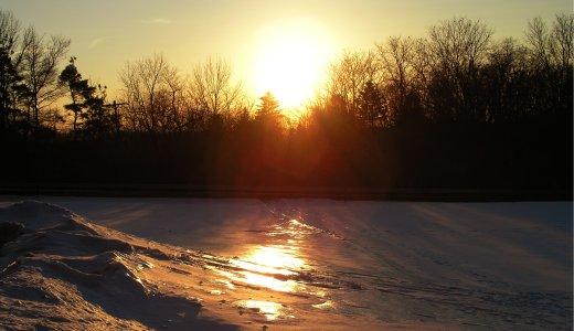 Sunset thing.