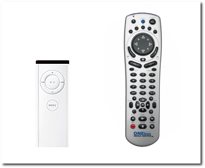 Two remotes