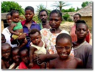 Generic suburban family, in Uganda